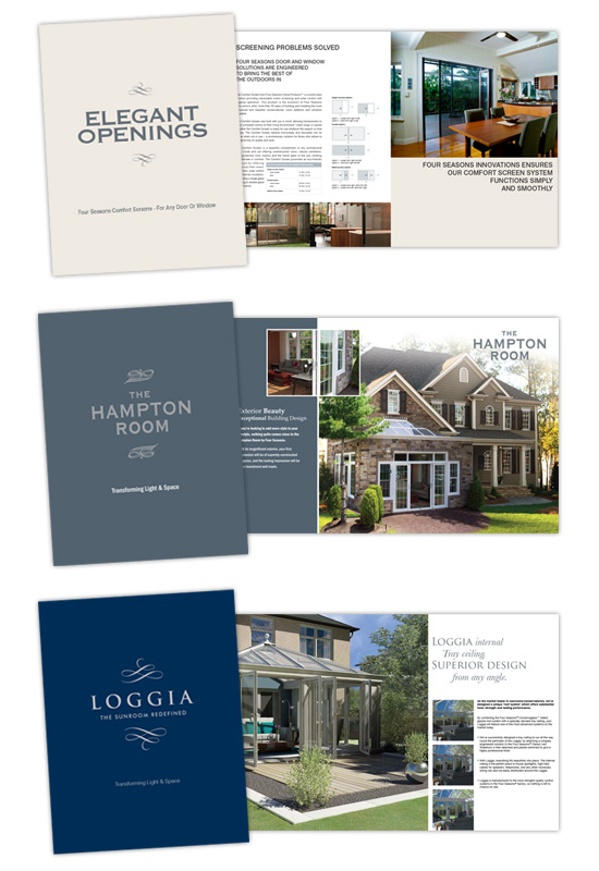 Four Seasons Sunrooms → Catalog Design