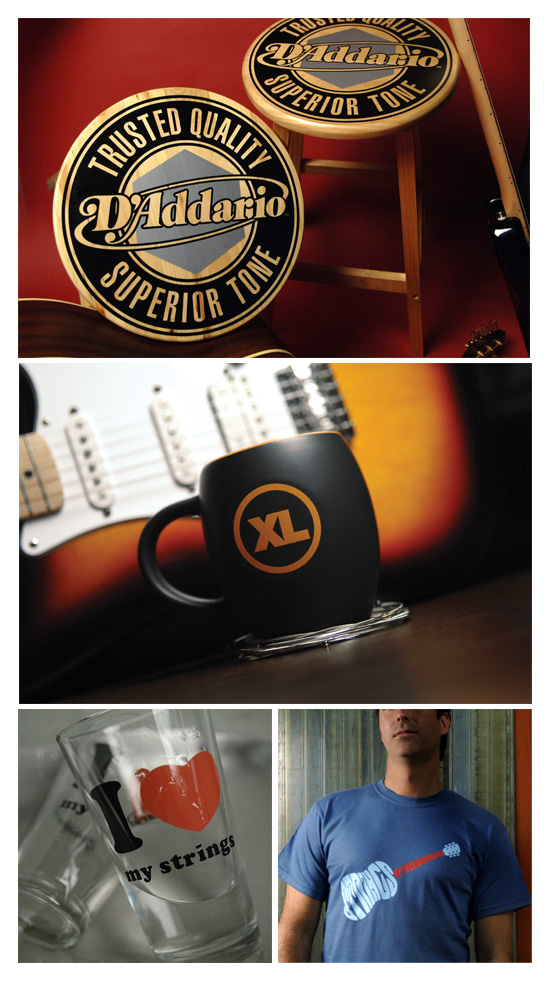 D'Addario → Swag → more…