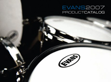 Evans Drumheads → Catalog → more…