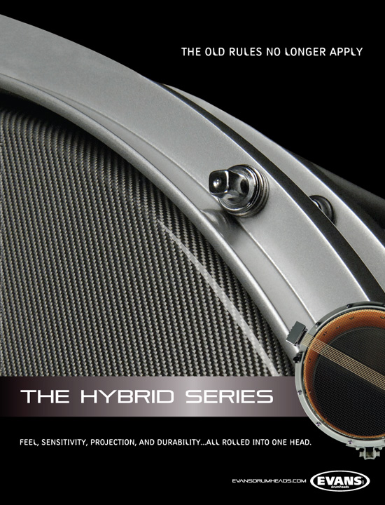 Evans Drumheads → New Hybrid Advertising Campaign → more…