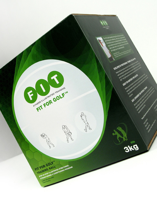 Fit For Golf → Package Design → more…