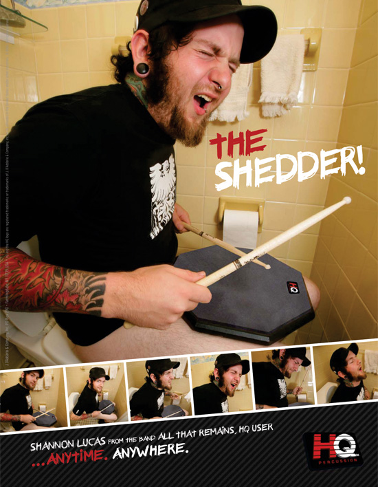 "HQ – ""The Shedder"" Advertising Campaign → more…"