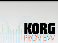 "Korg → ""Proview"" Catalog → more…"