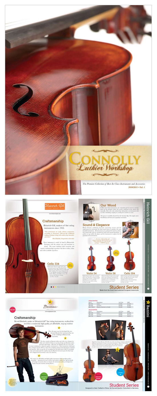 Connolly Music → Luthier Catalog → more…