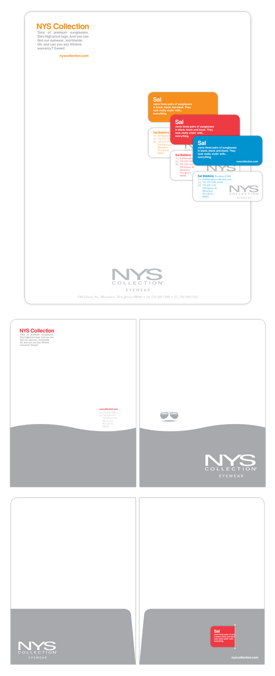 NYS Eyewear → Identity Design → more…