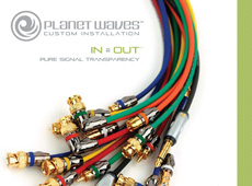 Planet Waves Custom Installation → Catalog → more…