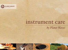 "Planet Waves → ""Instrument Care"" Catalog → more…"