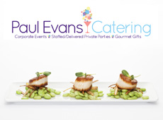 Paul Evans Catering → Website Design → more…