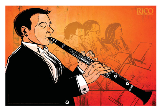 Rico Reeds → Jazz Poster; Clarinet → more…