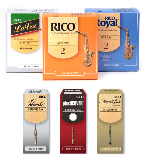 Rico Reeds → Package Design → more…
