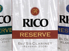 "Rico Reeds → ""Reserve"" Package Design → more…"