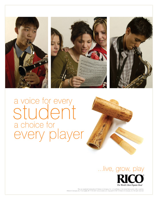 Rico Reeds → Student Advertising Campaign → more…