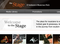 To The Stage → Website Design → more…