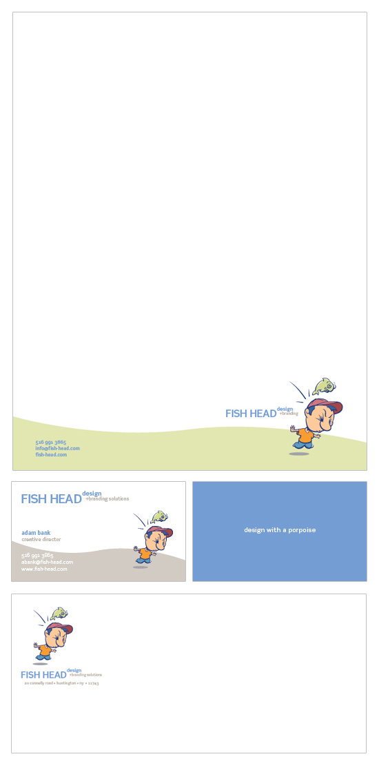 Fish Head Design → Identity Design → more…
