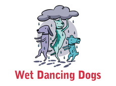 Wet Dancing Dogs → Logo Design → more…