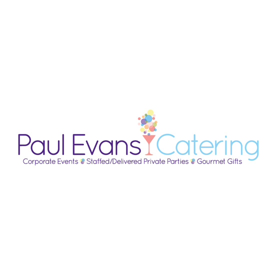 Paul Evans Catering → Logo Design → more…